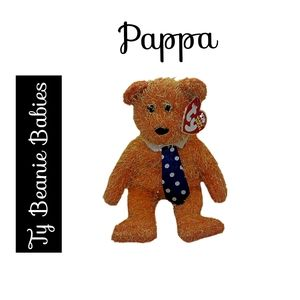 Ty Beanie Babies ~ Pappa the Bear